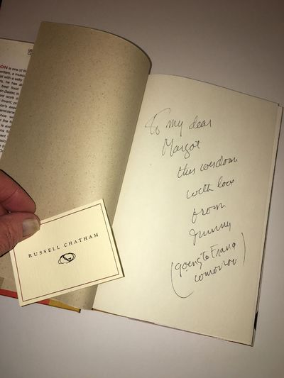 New York: Grove Press, 2001. First edition. hardcover. A fine copy in a fine dust jacket. Inscribed ...