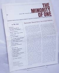 image of The minority of one; 1965, Jan, Vol. 7 No. 62 (whole number) independent monthly publication, dedicated to the elimination of all thought restrictions except for the truth [subhead later modified to read] Independent monthly for an American alternative --dedicated to the eradication of all restrictions on thought [broken run, 67 unduplicated items]