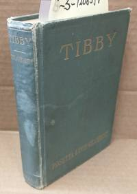 TIBBY: A NOVEL DEALING WITH PSYCHIC FORCES AND TELEPATHY