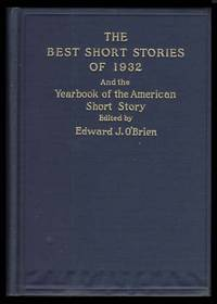 Untitled Story in The Best Short Stories of 1932 and the Yearbook of the American Short Story. With Autograph Letter Signed
