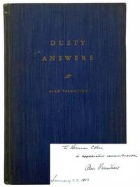 Dusty Answers: A Selection from Addresses by Alan Valentine