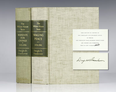 Garden City: Doubleday and Company, 1963-65. Signed limited first editions, each volume numbered 128...