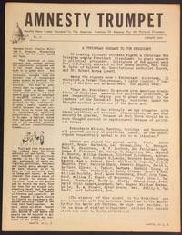 image of Amnesty trumpet: Monthly news letter devoted to the American tradition of amnesty for all political prisoners. No. 3 (January 1954)