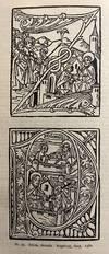 View Image 7 of 11 for . Inkunabeln. Mit 35 Abbildungen von Druckermarken, Einbanden, Holzschnitten und Typen. Katalog 562 Inventory #3144