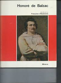 Honore de Balzac by Francoise d'Eaubonne - Hardcover - 1969 - from koko371000 (SKU: 171)