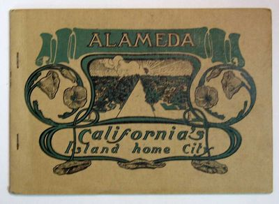 : Press of the Alameda Daily Argus, (n. d.). 1st printing , ca 1900. Not in Rocq. Printed buff stiff...