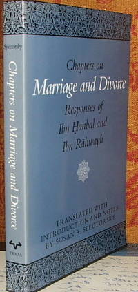 Chapters on Marriage and Divorce: Responses of Ibn Hanbal and Ibn Rahwayh