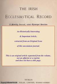 New Physical Theories and Old Metaphysical Concepts. A rare original article from the Irish...