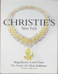 image of Magnificent Jewels From the Estate of Lillian Goldman, Christie's Sale  on 15 April, 2003