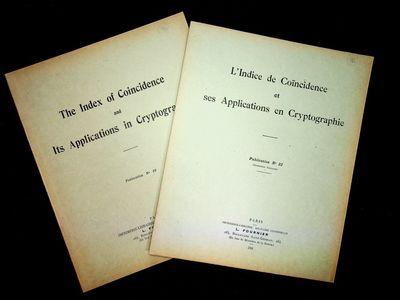 Paris: Imprimerie-Librairie Militaire Universelle, L. Fournier, 1921. First Edition. Wraps. Near Fin...