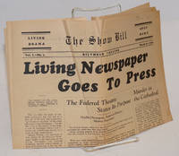 The living newspaper: the show bill; vol. 1, no. 2, The Biltmore Theatre, March 21, 1936; The Living Newspaper Goes to Press