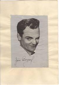 Magazine photo signed (James, 1899-1986, American Actor)