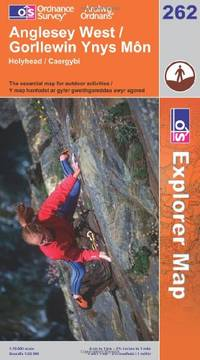 image of Anglesey West (Explorer Maps) (OS Explorer Map Active)