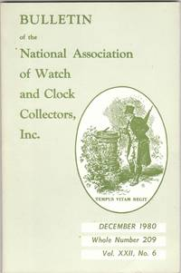 image of December 1980 Issue of NAWCC Watch and Clock Collectors Magazine