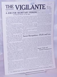 image of The Vigilante: Vol. 1 No. 4, September 16, 1933