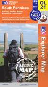 image of South Pennines (OS Explorer Map Active)