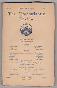 The Transatlantic Review, Volume 1, Number 1 (January 1924)