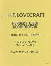 HERBERT WEST REANIMATOR ..