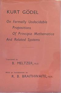 """""""Über formal unentscheidbare Sätze der Principia Mathematica und verwandter Systeme I.""""  Offprint from Monatshefte für Mathematik und Physik, XXXVIII, Band I."""