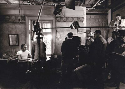 Los Angeles: Paramount Pictures, 1965. Vintage borderless reference photograph taken on the set of t...