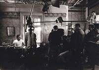 image of The Spy Who Came In from the Cold (Original photograph of Richard Burton, Martin Ritt, and film crew on the set of the 1965 film)