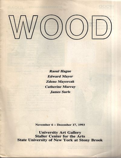 Stony Brook: Staller Center for the Arts, 1993. First Edition. Soft cover. Very Good. Quarto. White ...