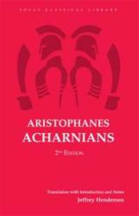 image of Aristophanes: Acharnians (Focus Classical Library)