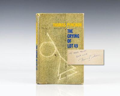 Philadelphia and New York: J.B. Lippincott, 1966. First edition of Pynchon's classic post-modern sat...