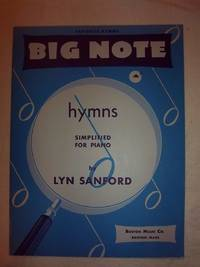 Big Note Hymns Simplified for Piano