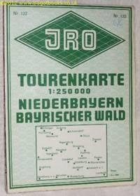 JRO Tourenkarte Niederbayern, Bayerischer Wald und Angrenende Gebiete. Nr.122. 1:250000