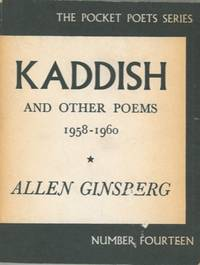 image of Kaddish and other poems 1958-1960.