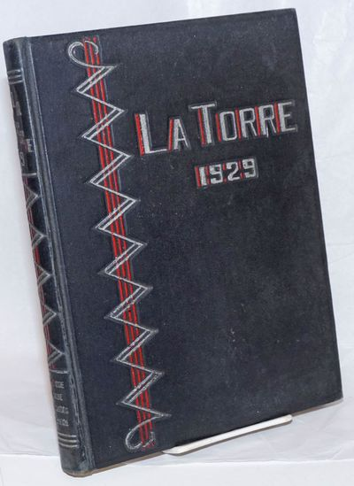 San Jose CA: The Associated Students of San Jose State College, 1929. Hardcover. 286p., yearbook, st...
