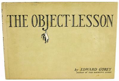 NY: Doubleday, 1958. Gorey, Edward. First edition. Gorey's fourth book,