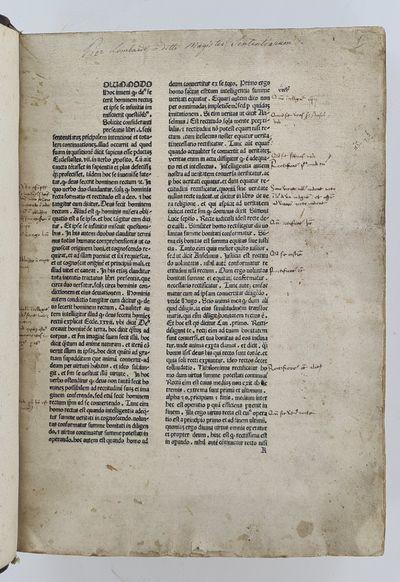 Commentarius in secundum librum...