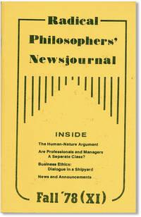 Radical Philosophers' Newsjournal - no. XI (Fall '78)