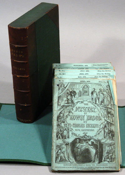 1870. FILDES, S. L.. DICKENS, Charles. THE MYSTERY OF EDWIN DROOD. With Twelve Illustrations by S. L...