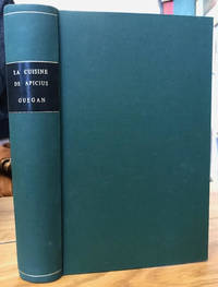 Les Dix Livres de Cuisine d'Apicius by  Bertrand Guegan - Hardcover - Limited Edition - 1933 - from Foster Books (SKU: 56513)