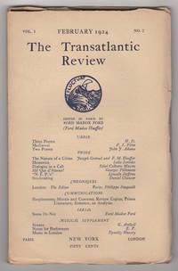 The Transatlantic Review, Volume 1, Number 2 (February 1924)