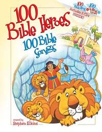 100 BIBLE HEROES 100 BIBLE SONGS AND CD