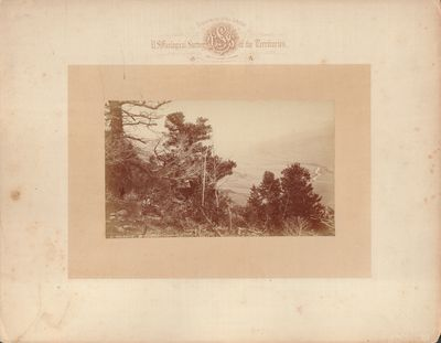 Very Good. Photographic print taken by William Henry Jackson during the U. S. Geological and Geograp...