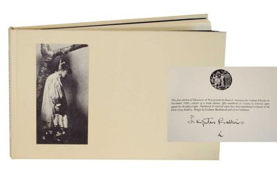 Santa Barbara, CA: Cadmus Editions, 1981. First edition. Oblong hardcover. Copy L from an edition of...