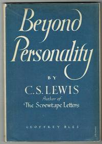 Beyond Personality: The Christian Idea of God