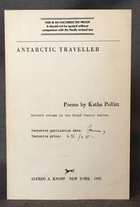 ANTARCTIC TRAVELLER (Knopf Poetry Series)