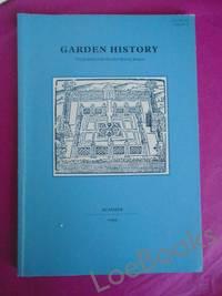 TUDOR GARDENS [GARDEN HISTORY The Journal of the Garden History Society Volume 27; Number  1 Summer 1999]