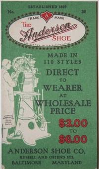 Baltimore, MD: Anderson Shoe Co., 1918. Wraps. Very Good. 64 pp., and wraps. 14 by 8 cm. High button...