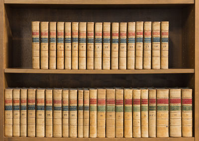 1762. 39 volumes. 1762-1792. Macclesfield Library set. 39 volumes. 1762-1792. Macclesfield Library s...