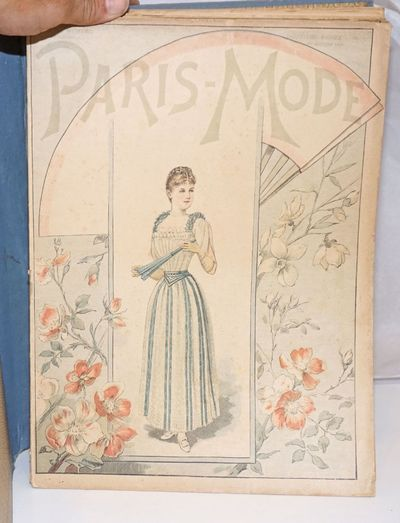 Paris: the bi-monthly, 1891. Magazine. Unbroken run for the year, in good shape. Paperbound magazine...