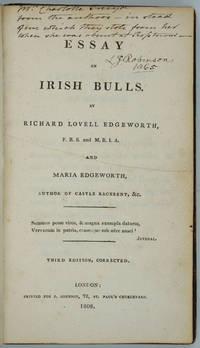 image of Essay on Irish Bulls [Family Association Copy]