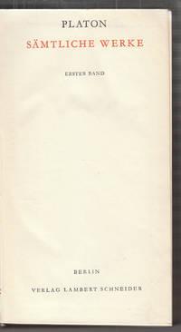 Sämtliche Werke. by PLATON - from Antiquariat Burgverlag and Biblio.com
