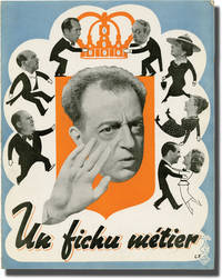 image of Un fichu metier (Original French film program for the 1938 film)